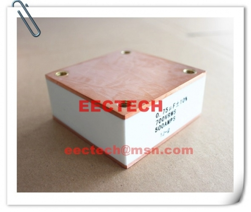 CBB90B, 0.75uF, 700V, 500A solid state high frequency film capacitor