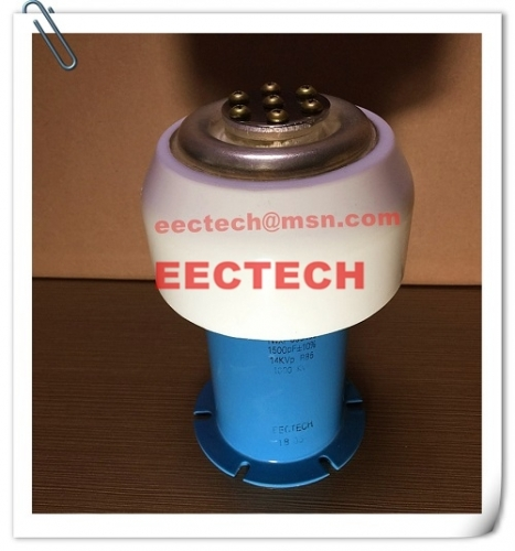 Water cooled capacitor (WCC) 095162, 1500pF/14KV, equal to TWXF095162, CCGS095162