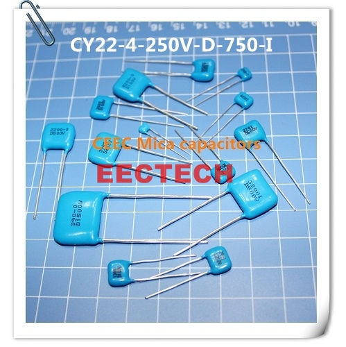 CY22-4-250V-D-750-I mica capacitor from Beijing EECTECH