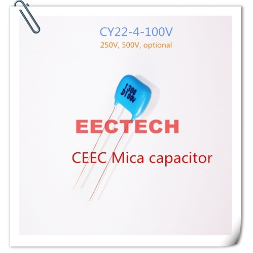 CY22-4-100V-D-1300-I mica capacitor from Beijing EECTECH