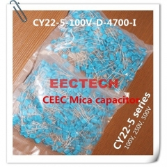CY22-5-100V-D-4700-I mica capacitor from Beijing EECTECH
