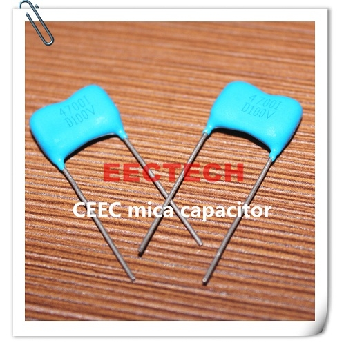 CY2-3-100V-D-4700-I mica capacitor from Beijing EECTECH, CHINA mica capacitors