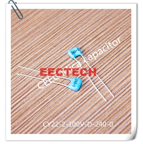 CY22-2-100V-D-180-I mica capacitor from Beijing EECTECH