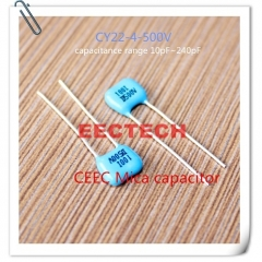 CY22-4-500V-D-100-I mica capacitor from Beijing EECTECH