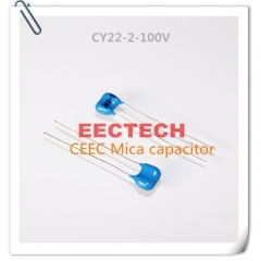 CY22-2-100V-D-12-I mica capacitor from Beijing EECTECH