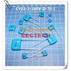 CY22-2-100V-D-75-I mica capacitor from Beijing EECTECH