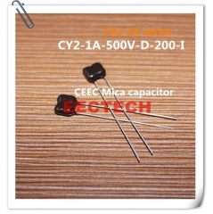 CY2-1A-500V-D-200-I mica capacitor from Beijing EECTECH