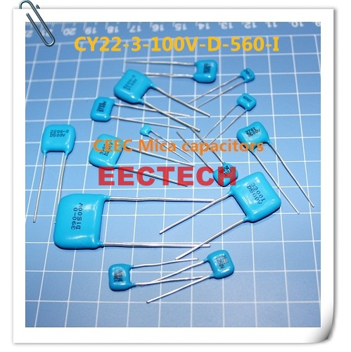 CY22-3-100V-D-560-I mica capacitor from Beijing EECTECH
