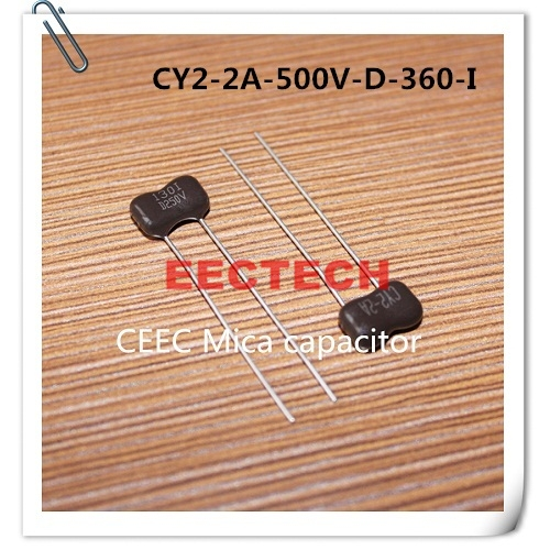 CY2-2A-500V-D-360-I mica capacitor from Beijing EECTECH, CHINA mica capacitors