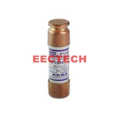 Cylindrical Cap-shaped Fuses,Equivalent model FRN-R (aM), fuse RO16H 250V/10A (1box=20pcs)