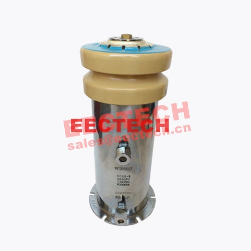 Water cooled capacitor (WCC) 141310, 5000pF/24KV, equal to CCGS141310, CCGS141314