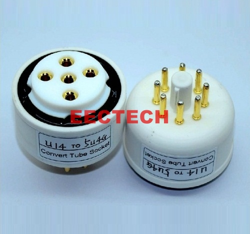 U14, RGN2504 to 5U4G tube conversion base,convert socket