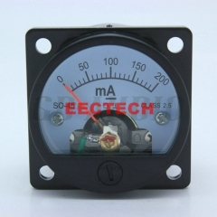45mm Round Moving Coil Panel Meter Ammeter for Vintage 2A3 300B 6550 211 KT88 845 Tube Amplifier DIY