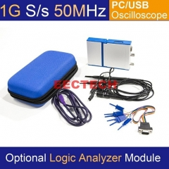 USB/PC Oscilloscope OSC2002 series, 1GS/s Sampling Rate, 50MHz Bandwidth