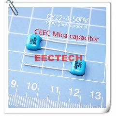 CY22-4-500V-D-82-I mica capacitor from Beijing EECTECH, one lot= 50pcs