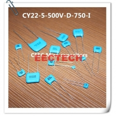 CY22-5-500V-D-680-I silver coated mica capacitor from Beijing EECTECH, one lot=50pcs