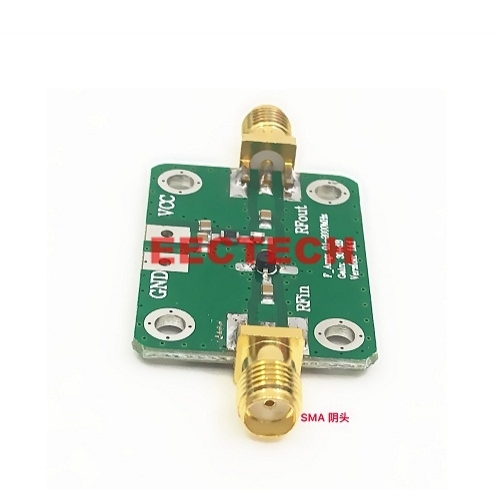 RF small signal amplifier (0.1-2000MHz 32dB)