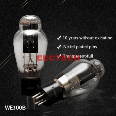 WE300B electron tube; engraved Xidian WE300B electron tube, replacing all brands 300B/4300B