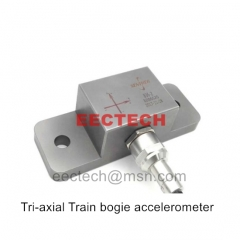 Tri-axial Train bogie accelerometer,836 accelerometer,Suitable for Railway High-speed rail