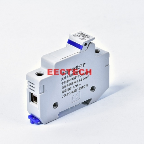 CH10 round cap cylindrical PV solar photovoltaic system protection fuse holder,CH10 DC1000V/32A