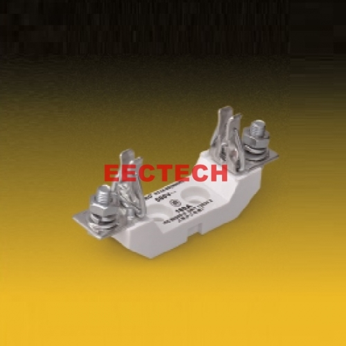 NH has filler square tube knife type contact fuse seat,NH00C/NH00 AC500/690V/160A