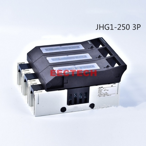 JHG1-250 3P fuse isolation switch,AC400/690V-250/200A
