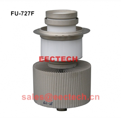 FU-727F vacuum tube, high frequency heat sealing machine high frequency oscillator, heating launch tube
