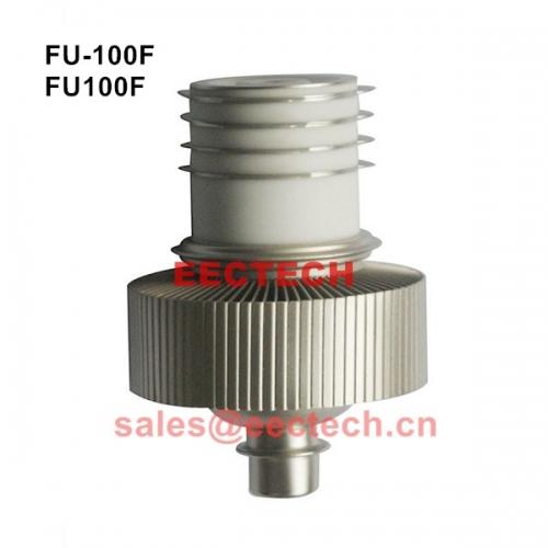 FU-100F electronic vacuum tube, high-frequency oscillator tube radio transmitter