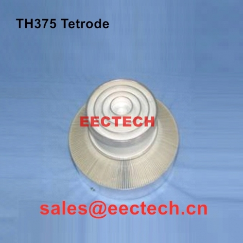 TH375 Metal ceramic tetrode with coaxial electrode structure