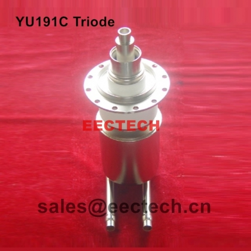 YU191C cermet triode, suitable for radio frequency oscillation and amplification