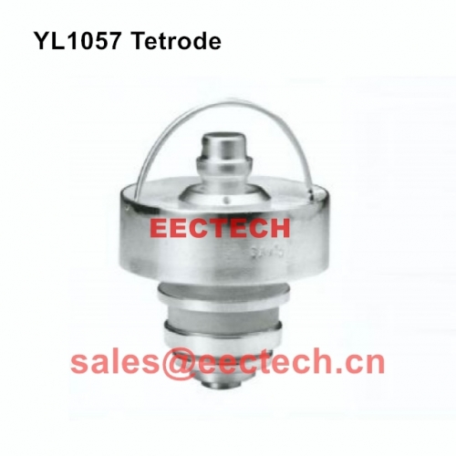 YL1057 Forced Air-cooled Coaxial Cermet Tetrode,for VHF TV and FM transmitter as power amplifier YL 1057