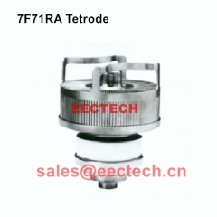 7F71RA forced air-cooled coaxial cermet tetrode
