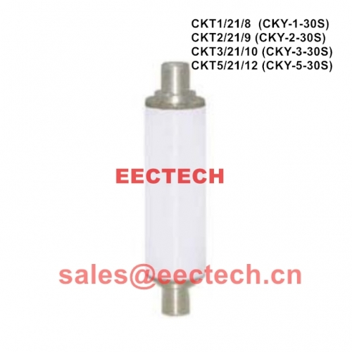 CKT3/21/10 vacuum fixed capacitor 3pF, 21KV, 10A, equivalent to vacuum capacitor CKY-3-30S