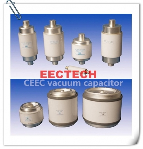 CKT1500/24/400, 1500PF/24KV/400A  fixed vacuum capacitor,equivalent to CFHM-1500-0035