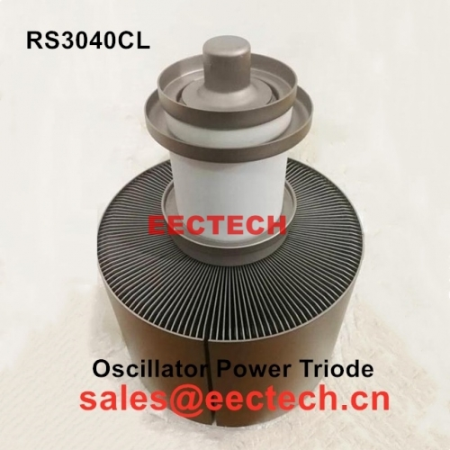 RS3040CL metal ceramic power triode tube for laser machine designed specifically for industrial applications