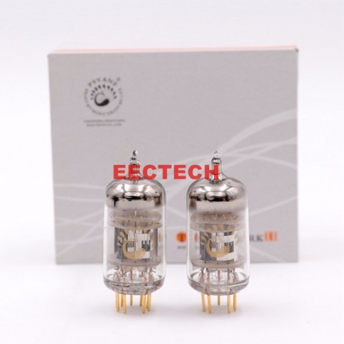 PSVANE 12AT7-TII Vacuum Tube Replace 12AT7 ECC81 For Vintage Hifi Audio DIY Microphone Headphone Tube AMP Factory Test New (one pair)