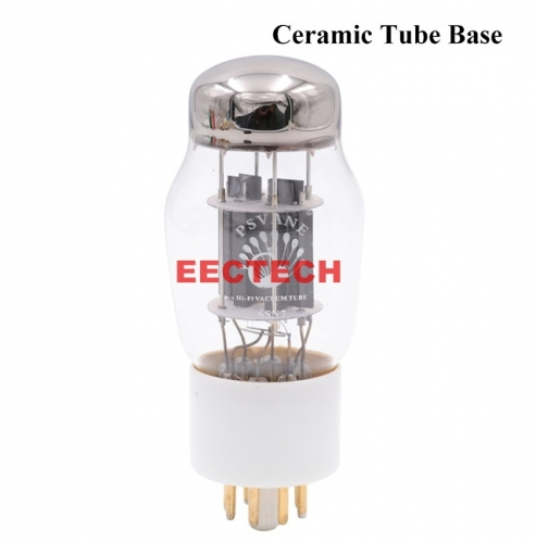 PSVANE Hifi 6SN7 Vacuum Tube Replace CV181 6N8P 6H8C Ceramic Base Hifi Audio Vintage Tube AMP DIY Factory Matched Pair (one pair)
