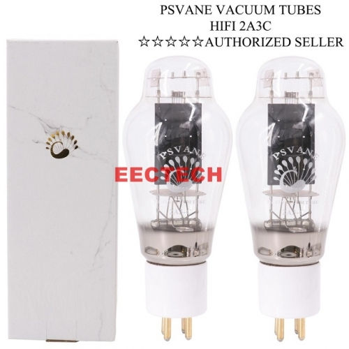 PSVANE 2A3C Vacuum Tube Replace 2A3 2A3B Carbon Plate Vintage HIFI AUDIO TUBE AMP Upgrade (one pair)