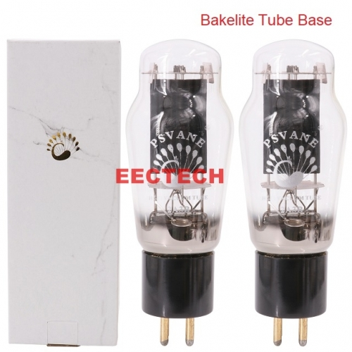 PSVANE Hifi 2A3B Vacuum Tube Replace 2A3 2A3C Tubes For Vintage HIFI Audio Tube Amplifier DIY Upgrade Factory Test Matched Pair (one pair)