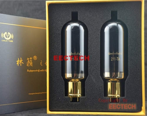 LINLAI 211-TA Tube,Lin Lai  T series tube series,hifi audio tube,Factory pairing, new technology and new sound(one pair)
