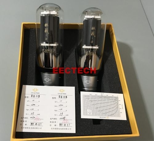 LINLAI E-805 tube,Lin Lai Elite tube series,audio tube,hifi audio tube,Rectifier (one Pair )