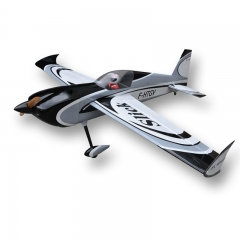 Slick 91inch/2311mm 60cc-80cc Gasoline Radio Controlled RC Airplane Model Balsa Wood Fixed Wing Plane Gray