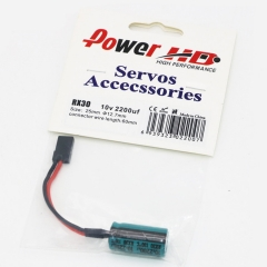 Original Power HD RX30 Electric Capacity 2200uF 10V  For Radiolink RC3S Rc4G WFLY X4 Transmitter Flight-Model