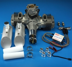 DLE120 Rear Exhaust Engine