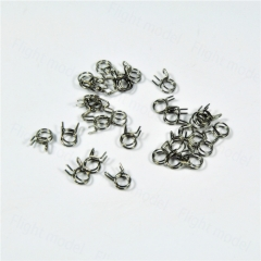 10pcs Fuel Line Oil Air Tube Clamp Hose Spring Clip Fastener 6mm For RC Fuel Model Accessories