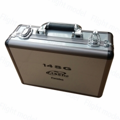 Portable Carry Aluminum Case for Futaba 14SG 10C 8FG 10J 8J T6K, Anti Oxidation