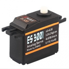 Emax ES3001 RC Parts ABS Analog Servo 37g For Helicopter Airplane Part