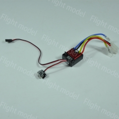 HobbyWing QuicRun Brushed 60A Electronic Speed Controller ESC 1060 With Switch Mode BEC For 1:10 RC Car