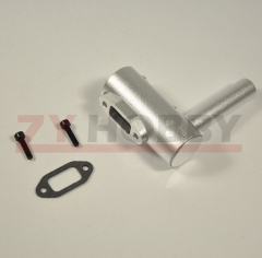 Vent Pipe Side Exhaust Pipe for DLE20 20RA Gas Engine