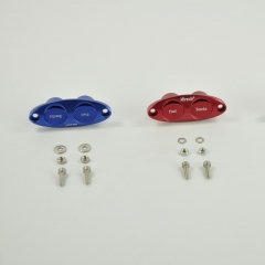 Miracle RC Dual Twin Fuel Dot Red/ Blue/ Black Color for RC Fuel Pipe and Smoke Pipe